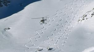 Heliskiing-Cortina d'Ampezzo-Heli-Skiing in the Dolomites near Cortina d'Ampezzo-1