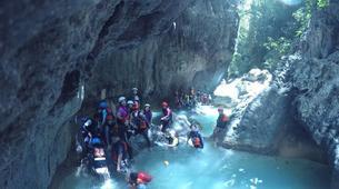 Canyoning-Cebu-Private Canyoning Excursion at Kawasan Falls-14