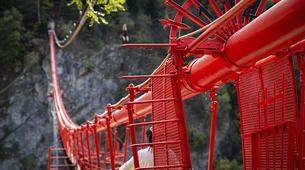 Bungee Jumping-Niouc-Bungee Jump From Europe's Highest Suspension Bridge, in Niouc-4