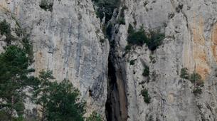 Canyoning-Font Romeu-Dry Canyon of Fontanelles in the Spanish Pyrenees-1
