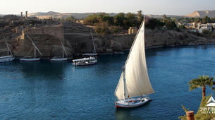 Sailing-Aswan-Felucca Ride on the Nile in Aswan-1