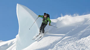 Heliski-Queenstown-Snow Plane & 2 run Ski Excursion of Tasman Glacier, from Queenstown-1