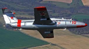 Air Experiences-Banská Bystrica-Jet fighter flight (L-29) in Slovakia-3
