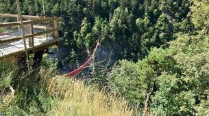 Saut à l'élastique-Niouc-Saut Pendulaire du Plus Haut Pont Suspendu d'Europe, Niouc-3