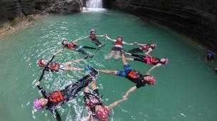 Canyoning-Cebu-Private Canyoning Excursion at Kawasan Falls-12