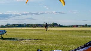 Parapente-Sala-Tandem paragliding flight in Sala, close to Västerås-5
