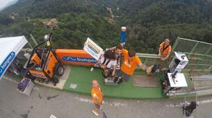 Saut à l'élastique-Milan-Bungee jumping from The Colossus bridge (152m) in Veglio Mosso, near Biella-4