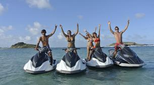 Jet Skiing-St Barts-Jet ski excursion in Saint Barthelemy-1