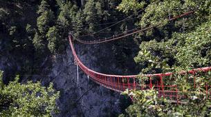 Bungee Jumping-Niouc-Bungee Jump From Europe's Highest Suspension Bridge, in Niouc-1