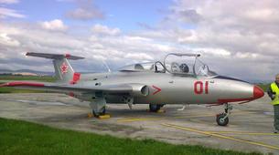 Air Experiences-Banská Bystrica-Jet fighter flight (L-29) in Slovakia-1