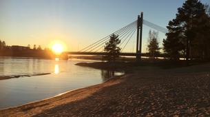 Kajak-Rovaniemi-Kanufahren in Lappland, Finnland-2