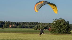 Parapente-Sala-Tandem paragliding flight in Sala, close to Västerås-3