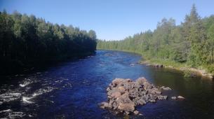 Kajak-Rovaniemi-Kanufahren in Lappland, Finnland-5