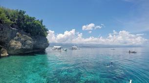Canyoning-Cebu-Kawasan Falls & Moalboal Island Private Tour Package-1