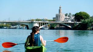 Kayak-Seville-Kayaking on the Guadalquivir River in Seville-1