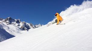 Ski Hors-piste-Serre Chevalier-Session Privée Ski Hors Piste à Serre Chevalier-2