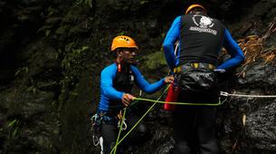 Canyoning-Gitgit-Canyoning Excursion at Tukad Lampah Gorge in Bali-1