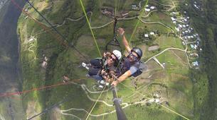 Parapente-Baie de Saint-Leu-Vol en Parapente au départ de Saint-Leu, La Réunion-3