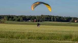 Parapente-Sala-Tandem paragliding flight in Sala, close to Västerås-2