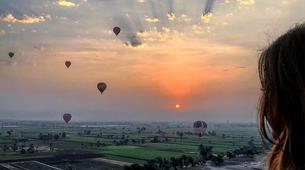 Hot Air Ballooning-Luxor-Sunrise Hot Air Balloon flight over Luxor-1