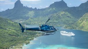 Helicoptère-Moorea-Vol panoramique de Moorea en hélicoptère-1