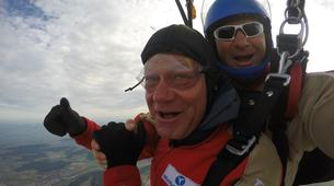 Skydiving-Thalmässing-Tandem Skydiving at the airport Thalmässing-Waizenhofen, Bavaria-4