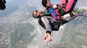 Parachutisme-Le Mont-Saint-Michel-Saut en Parachute Tandem au Mont-Saint-Michel depuis Le Val-Saint-Père-4