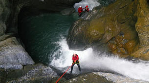 Canyoning-Sion-Canyoning in the Swiss Alps on the Morges-2