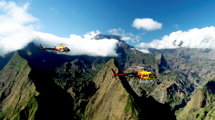 Helicopter tours-Saint-Pierre-Helicopter Flight over the Cirques and Volcanoes of Reunion Island-1