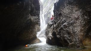 Canyoning-Salzbourg-Canyoning in the Strubklamm gorge near Salzburg, Austria-5
