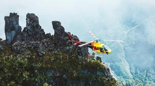 Helicopter tours-Saint-Pierre-Helicopter Flight over the Cirques and Volcanoes of Reunion Island-4