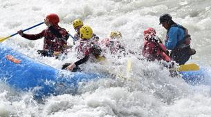 Rafting-Sion-Rafting adventure on the Dranse in the Alps between France and Switzerland-6