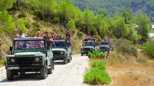 4x4-Antalya-Jeep safari and rafting combination trip in the Koprulu Canyon National Park, near Antalya-5