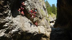 Canyoning-Salzbourg-Canyoning in the Strubklamm gorge near Salzburg, Austria-3