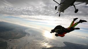 Parachutisme-Le Mont-Saint-Michel-Saut en Parachute Tandem au Mont-Saint-Michel depuis Le Val-Saint-Père-5