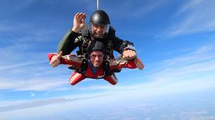 Skydiving-Thalmässing-Tandem Skydiving at the airport Thalmässing-Waizenhofen, Bavaria-1