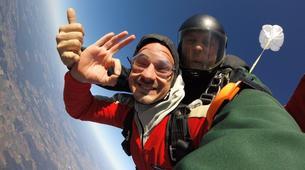 Skydiving-Thalmässing-Tandem Skydiving at the airport Thalmässing-Waizenhofen, Bavaria-5