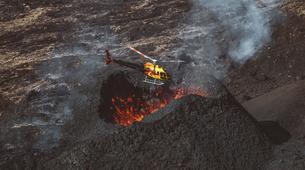 Helicopter tours-Piton de la Fournaise-Helicopter Flight over the Piton de la Fournaise, Reunion Island-1