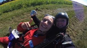 Skydiving-Thalmässing-Tandem Skydiving at the airport Thalmässing-Waizenhofen, Bavaria-3
