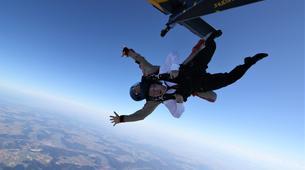 Skydiving-Thalmässing-Tandem Skydiving at the airport Thalmässing-Waizenhofen, Bavaria-6