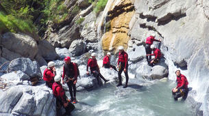 Canyoning-Sion-Canyoning in the Swiss Alps on the Morges-1