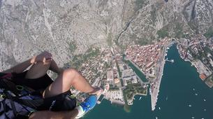 Paragliding-Budva-Tandem paragliding flight in the Kotor Bay, Montenegro-3