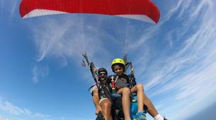 Paragliding-Saint-Leu-Tandem paragliding flight over the lagoon of Saint Leu, Reunion Island-2