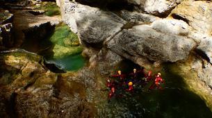Canyoning-Salzbourg-Canyoning in the Strubklamm gorge near Salzburg, Austria-4