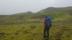 Hiking / Trekking-Reykjavik-Hiking the Great Eyjafjallajökull Volcano, Seljavellir-4