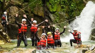 Canyoning-Sion-Canyoning in the Swiss Alps on the Morges-5