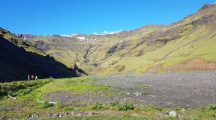 Hiking / Trekking-Reykjavik-Hiking the Great Eyjafjallajökull Volcano, Seljavellir-5