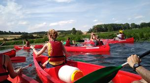 Kayaking-Vexin Regional Nature Park-Canoe Rental on the Epte River in Normandy-5