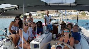 Sailing-Mykonos-Semi-Private Sailing yacht tour from Mykonos to Rhenia and Delos-5