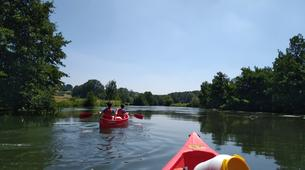 Kayaking-Vexin Regional Nature Park-Canoe Rental on the Epte River in Normandy-1